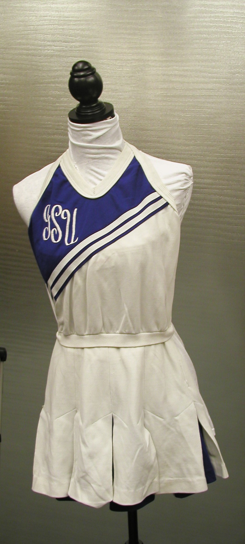 Cheerleader one-piece uniform
