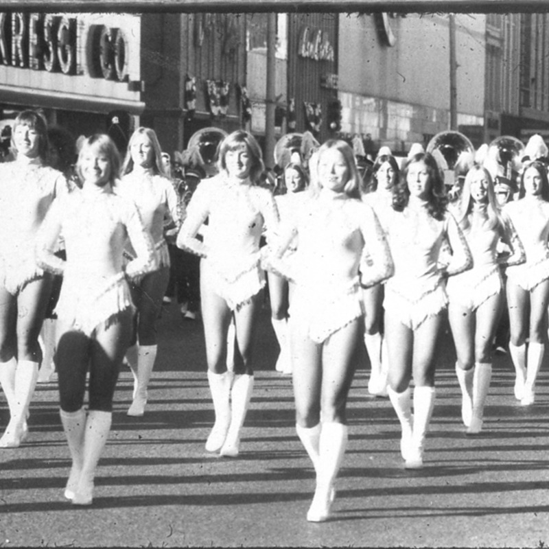 Sparkettes in parade, no date