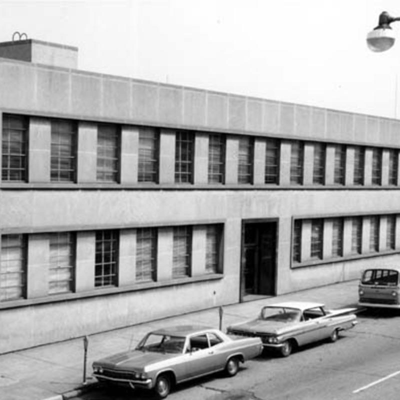 Alumni Hall, 1966