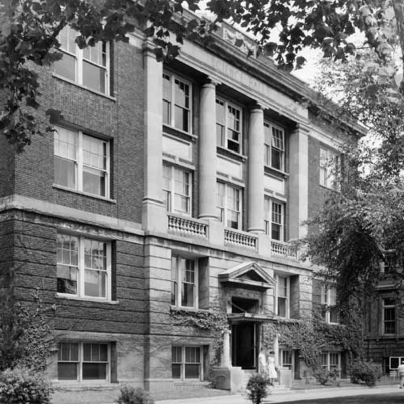Science Hall, 1917