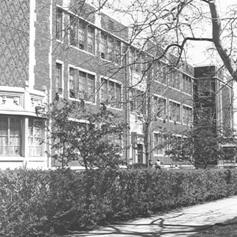 University Hall, 1935