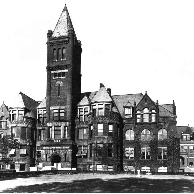 "Indiana State Normal School ""Old Main,"" 1888"