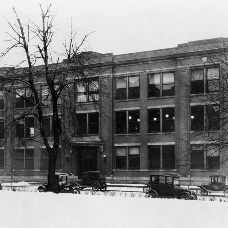 Technology building, 1915