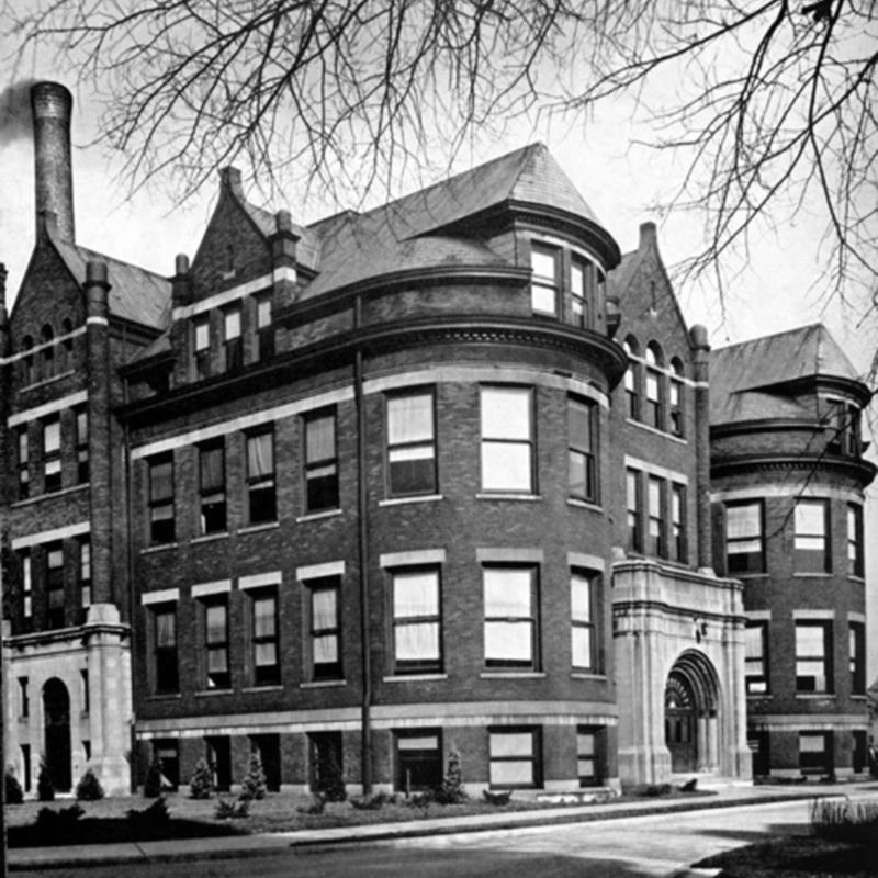 Stalker Hall, 1905
