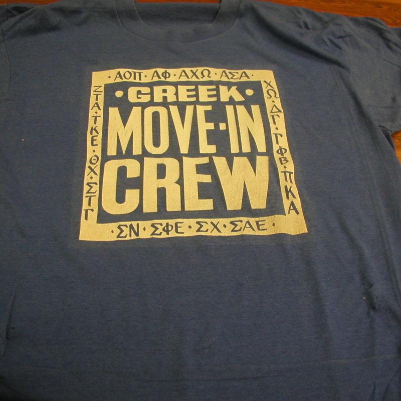 Greek Move-in Crew t-shirt