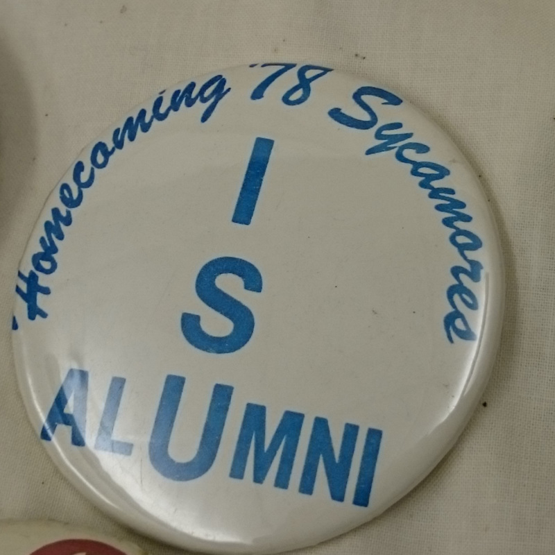 ISU Alumni Homecoming button