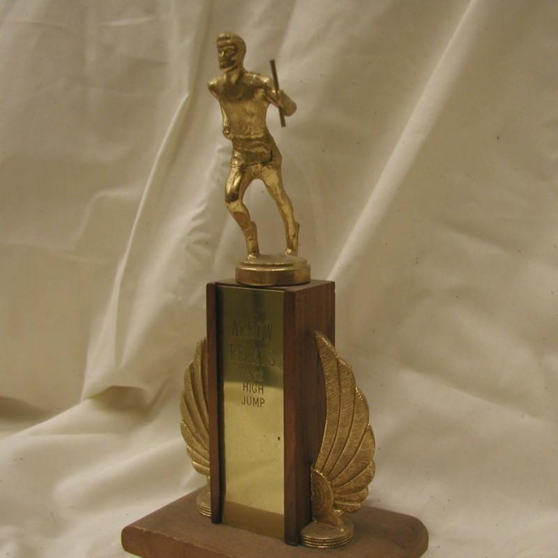 High jump trophy