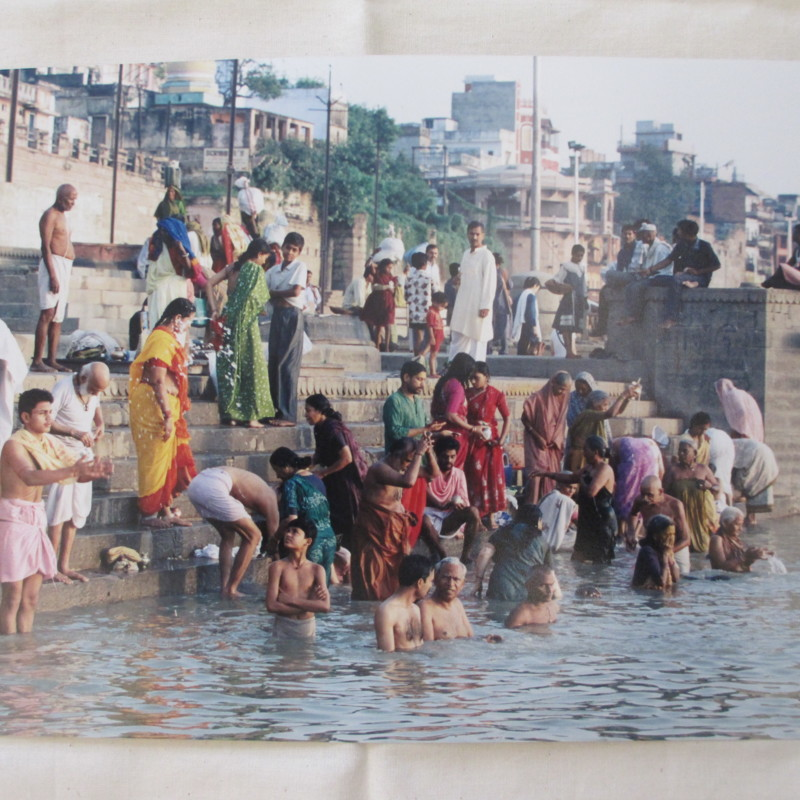[Bathers in the Ganges]