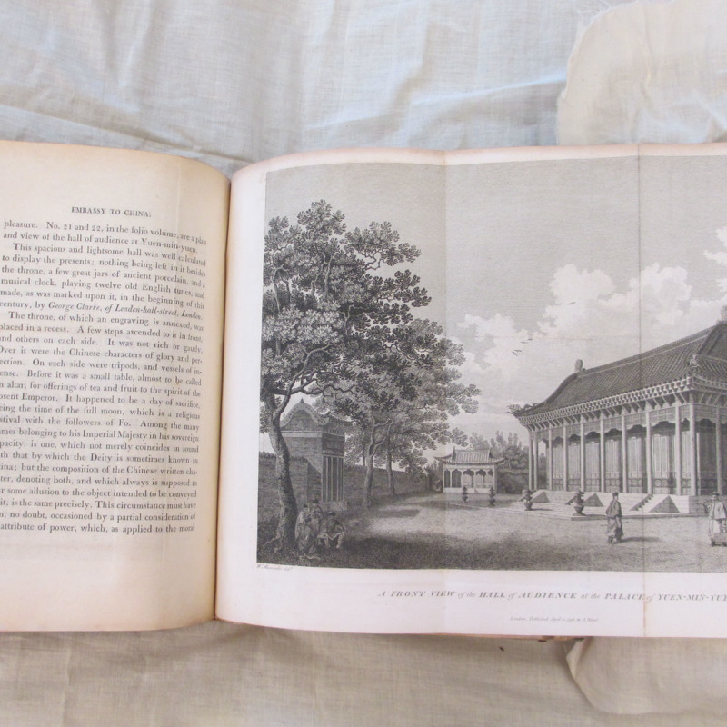 <em>An Authentic Account of an Embassy from the King of Great Britain to the Emperor of China</em>