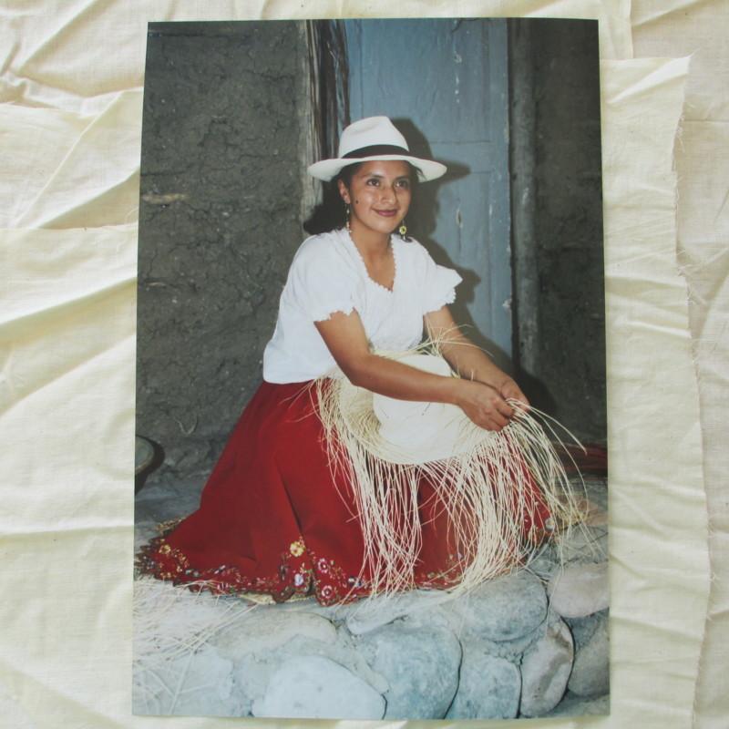 Making Panama Hats