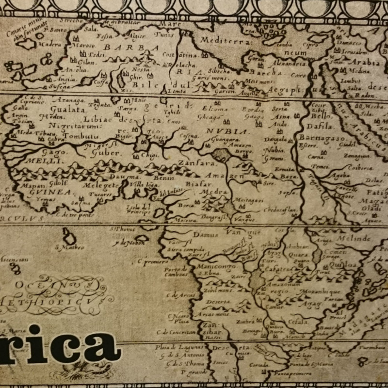 [Map of Africa]