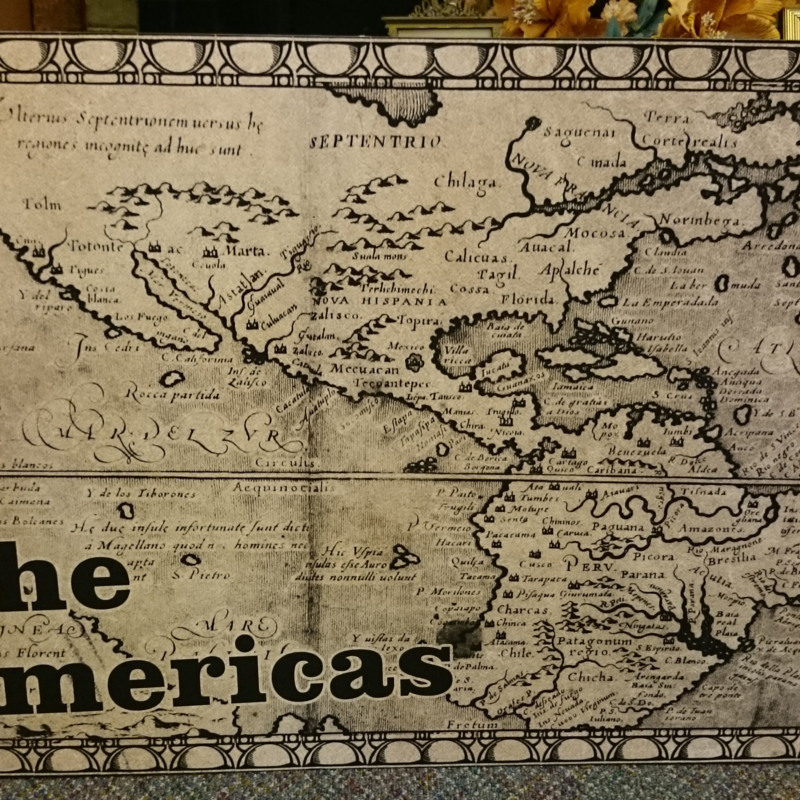 [Map of Americas]