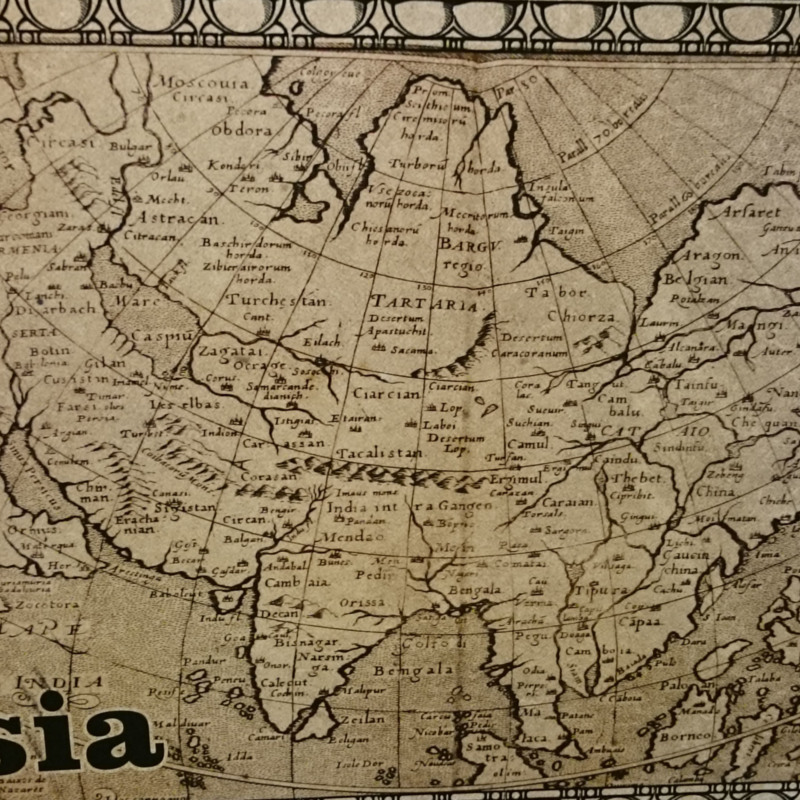 [Map of Asia]