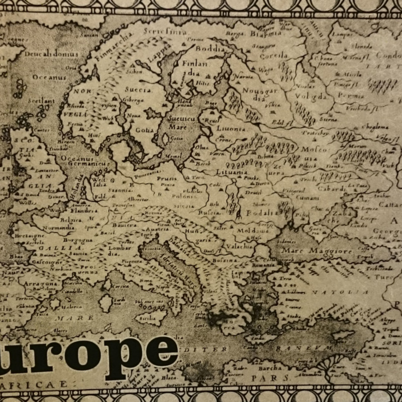 [Map of Europe]