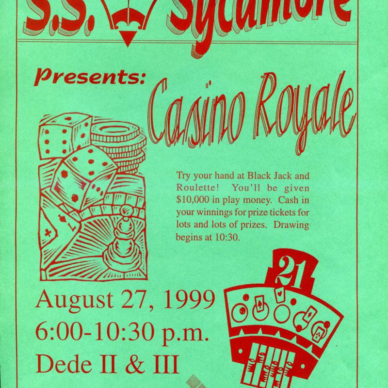 S.S. Sycamore Presents: Casino Night
