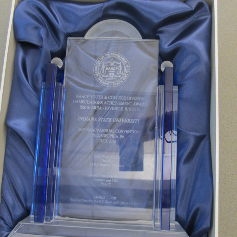 NAACP Youth & College Division Gamechanger Achievement Award-Issue Area- Juvenile Justice