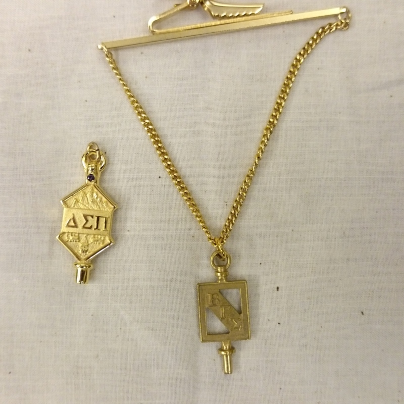 [Business fraternity and Business honorary pendants]