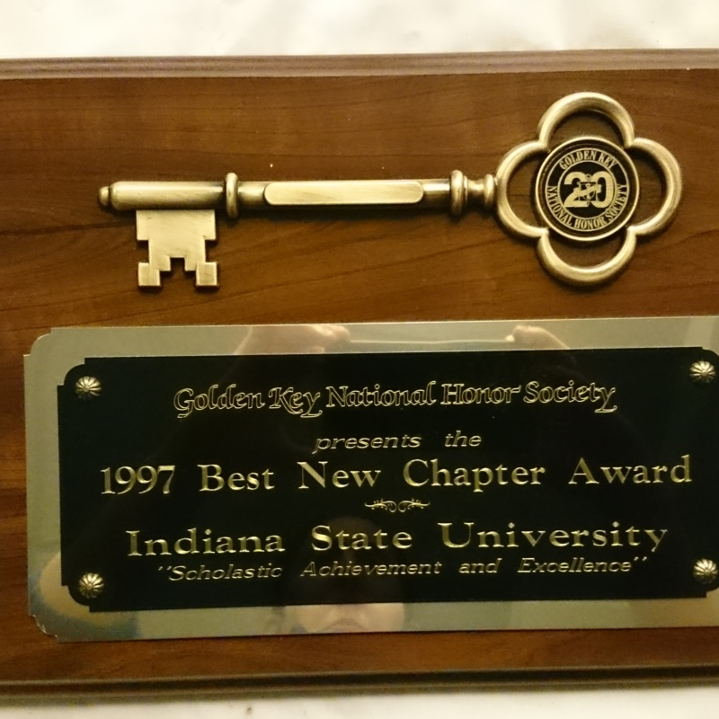 Best New Chapter Award
