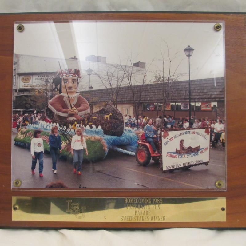 "<em>Homecoming 1985 ""Just Havin' Fun"" Parade Sweepstakes Winner</em>"