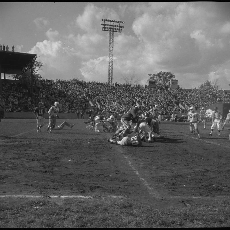 Homecoming football game, 1961