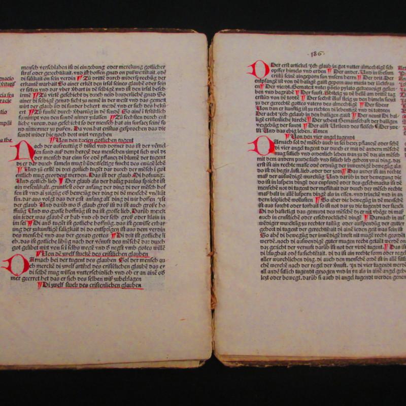 <i>Ein Buchlein</i> … Ingolstat: Fidelter collecta et breuiter exposita qued Magistrum in Ingolstat Scolarem sacre Theologie et impressa idibem