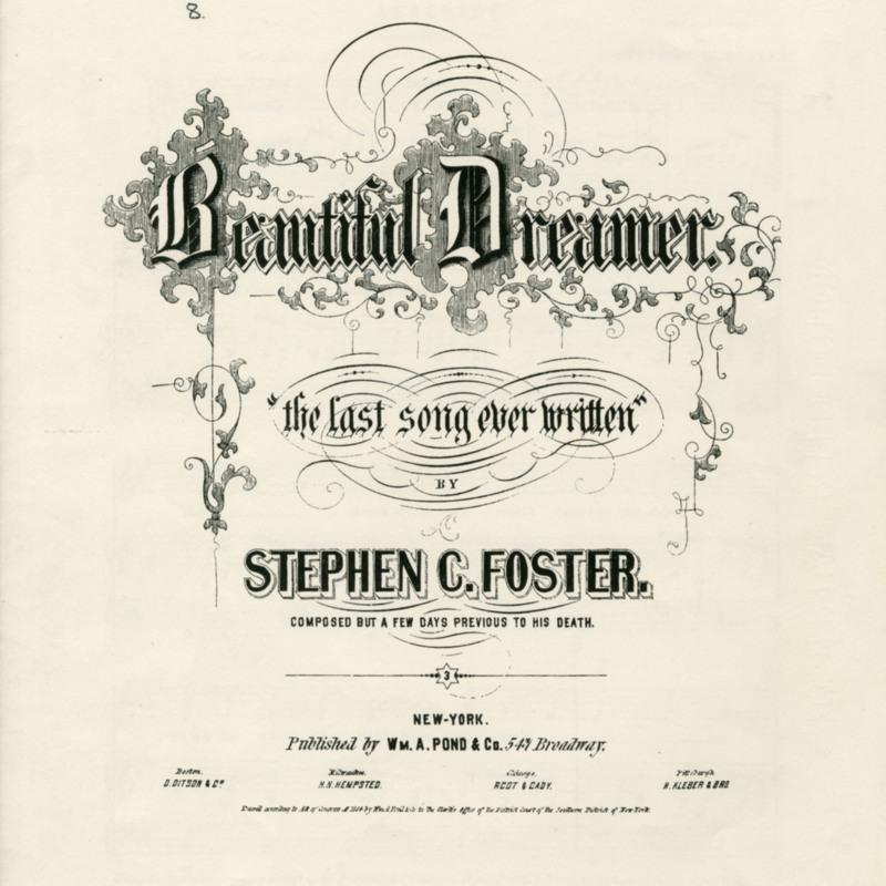 """""""Beautiful Dreamer."""""""