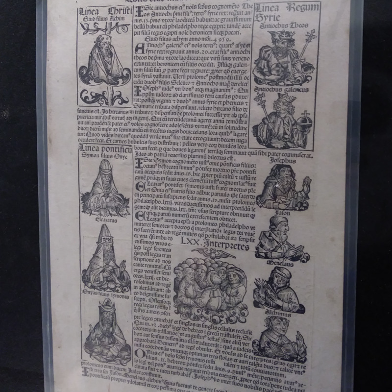 Pages from the <em>Nuremberg Chronicle</em>