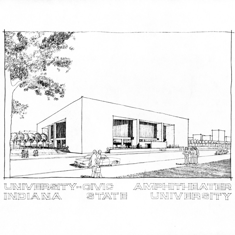 University-Civic Amphitheater Drawing (Hulman Center)