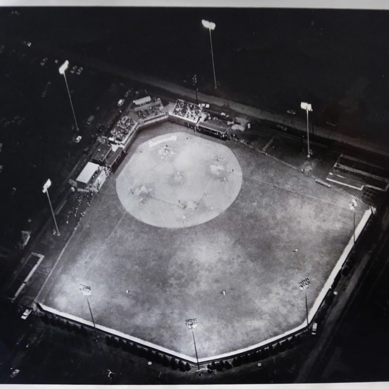 Aerial Image of Bob Warn Baseball Field