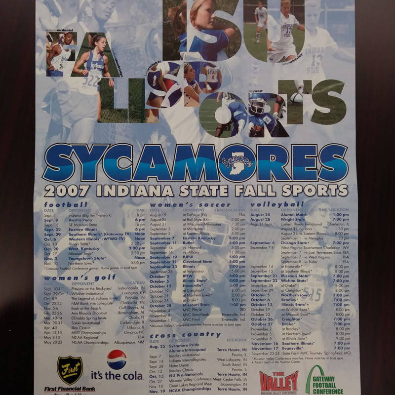 Fall Sports Poster 2007