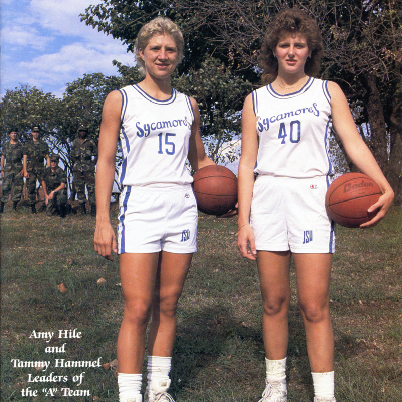 Women's Basketball-1987-Hile Cover