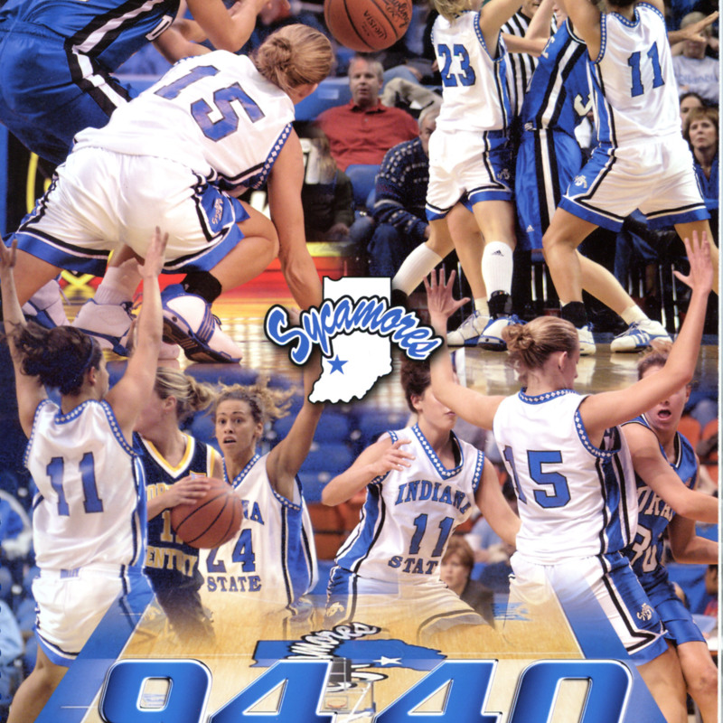 Women's Basketball-2005-cover