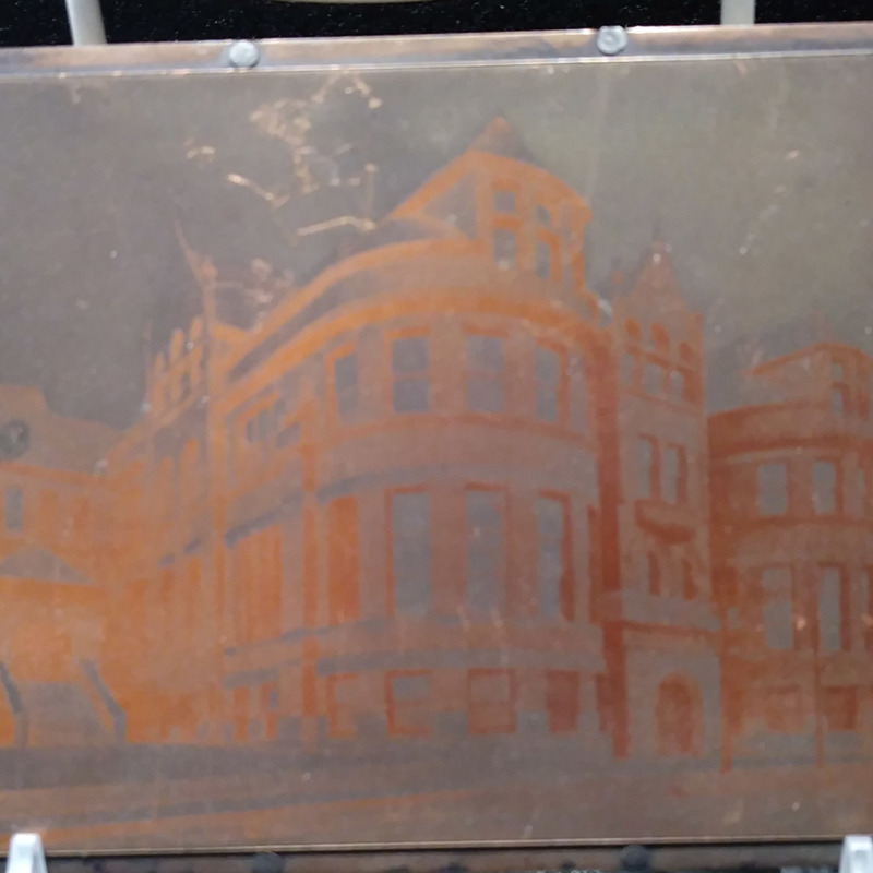 North Hall Print Plate