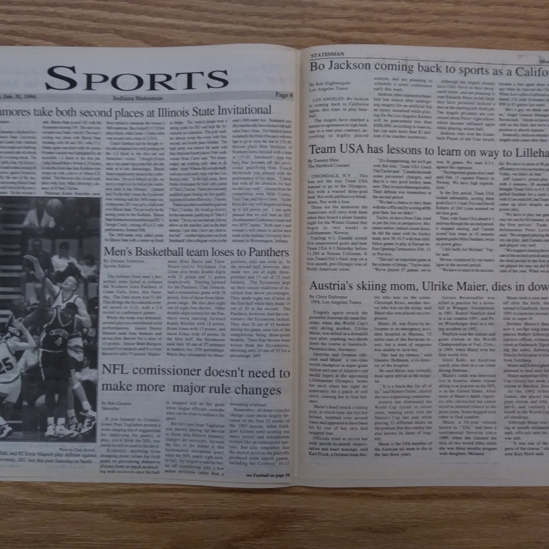 Statesman- Sports 1