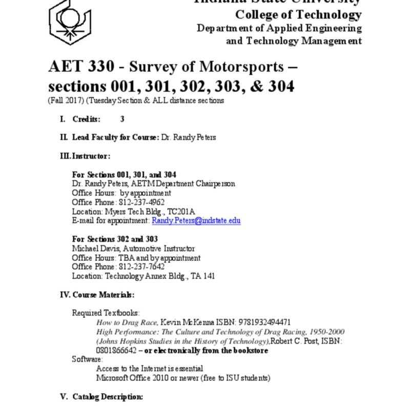 AET 330 Syllabus Fall 2017 16 week face to face Tuesday section.pdf