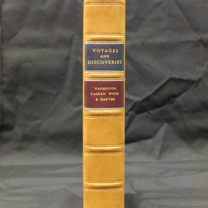 <em>An Account of Several Late Voyages and Discoveries...</em>London: D. Brown. 1711: Rare Books Collection, Rare Books and Manuscripts, Indiana State University