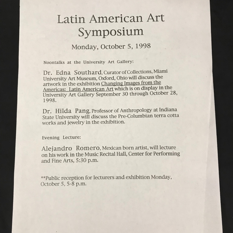 Latin American Art Symposium