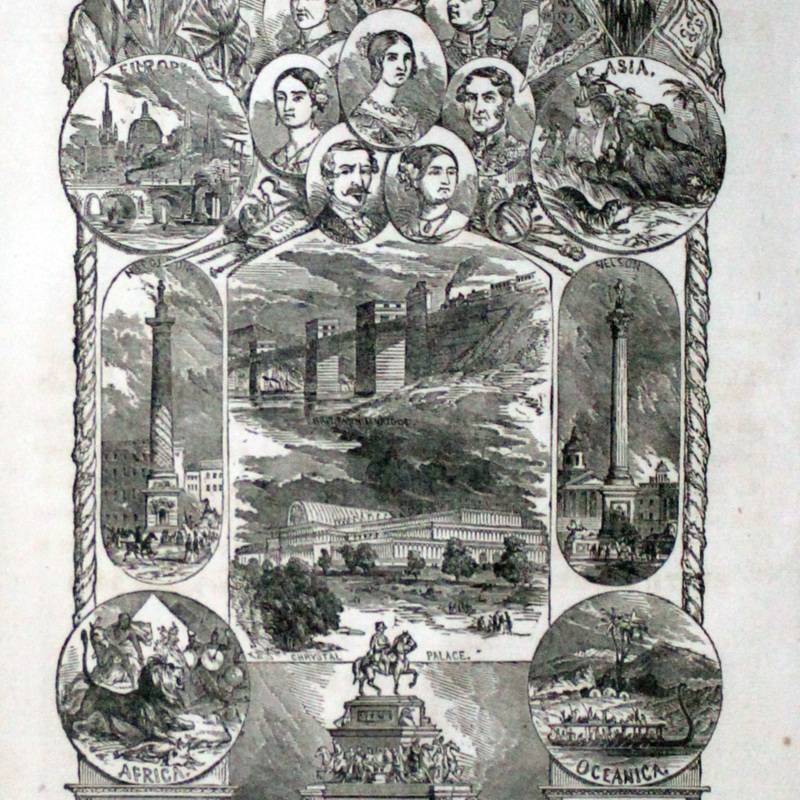 THE SECOND BOOK OF HISTORY, COMBINED WITH GEOGRAPHY -- FRONTISPIECE