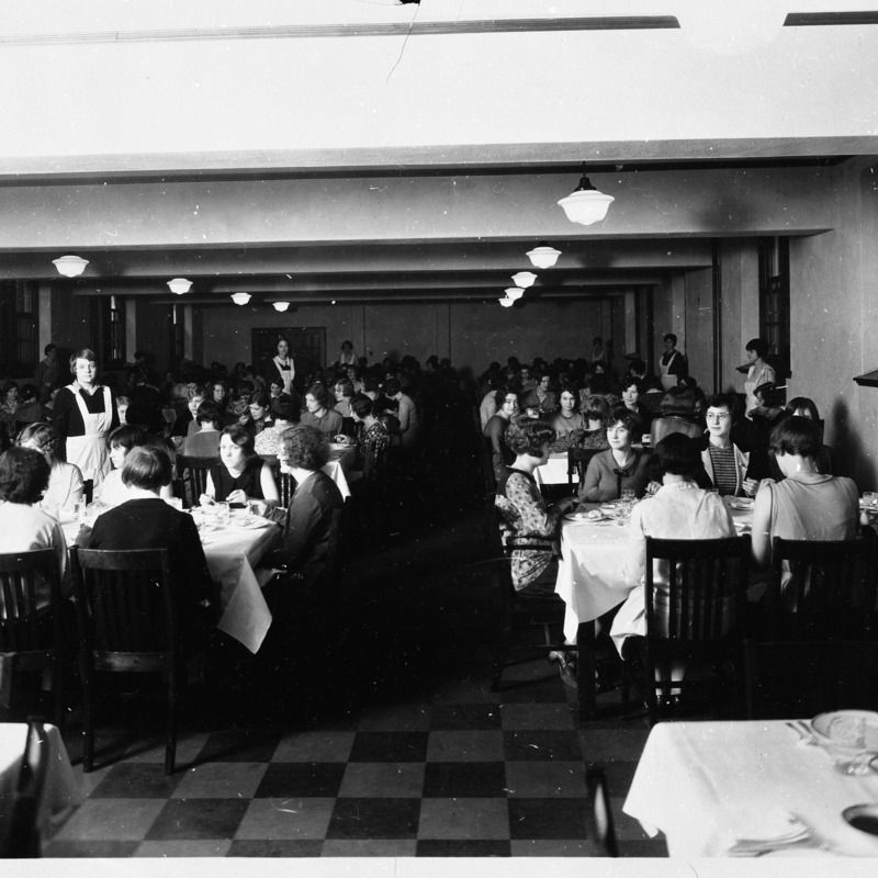 Women's Residence Hall dining room