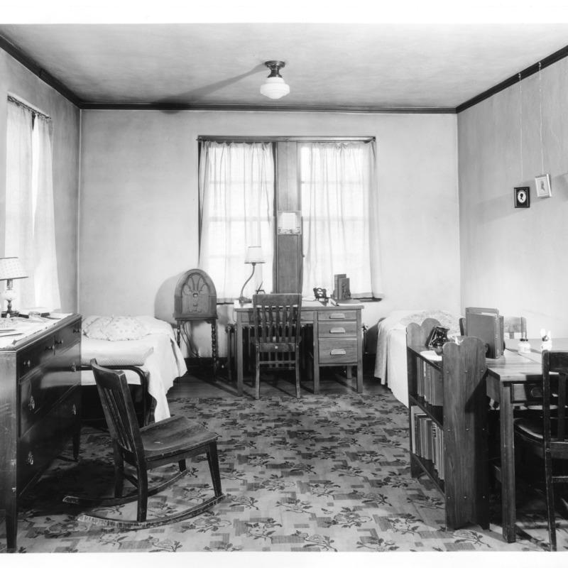 Women's Residence Hall room