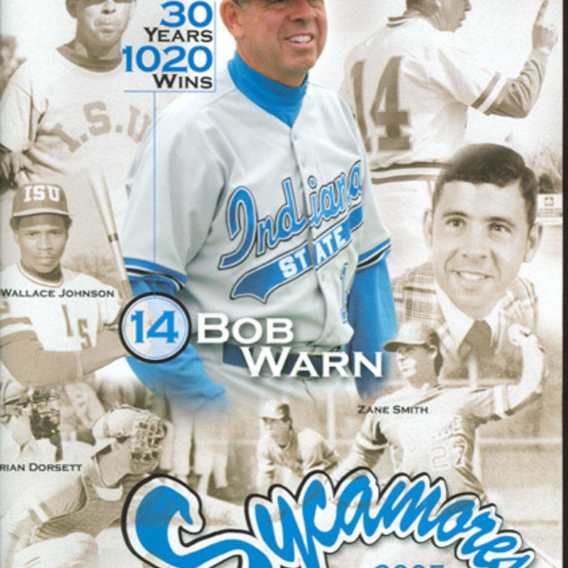 Baseball Bob Warn cover