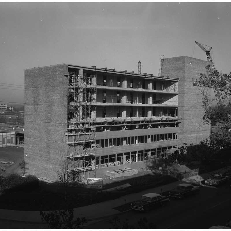 Erickson Hall construction