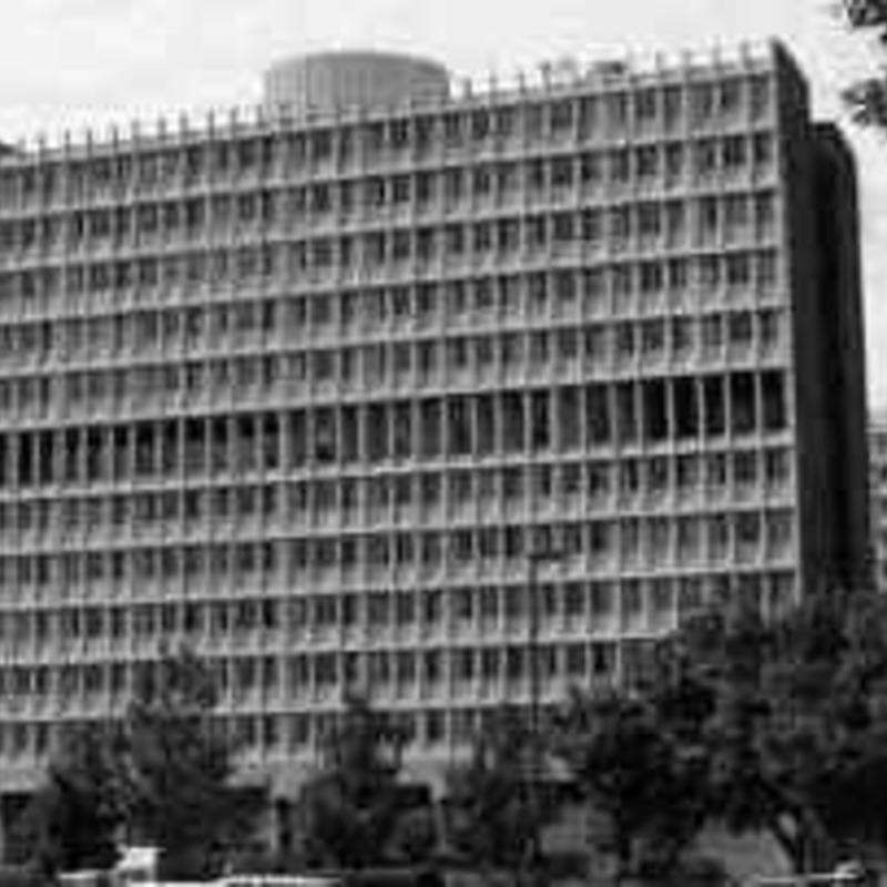 Blumberg Hall, 1964