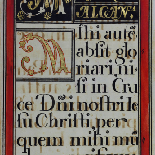 Color panel, black, gilt and red