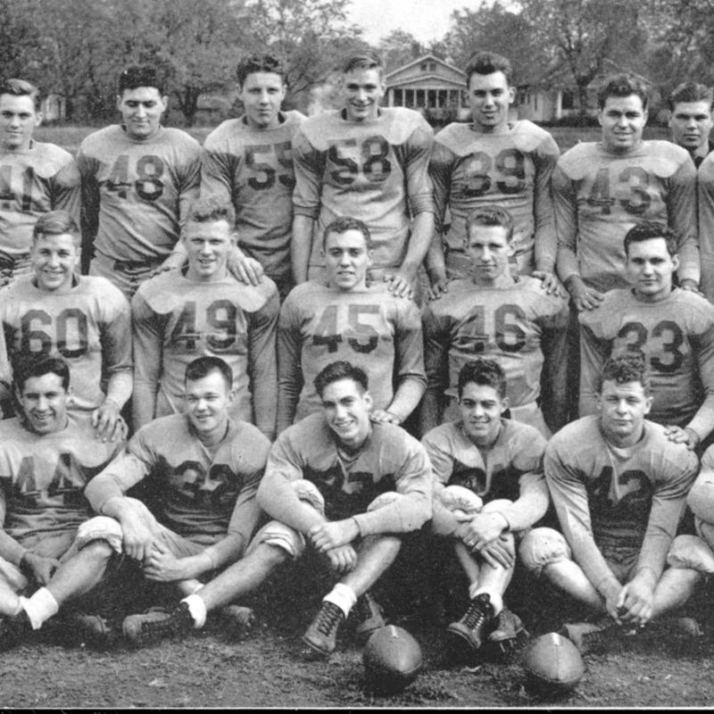 Football team, 1945