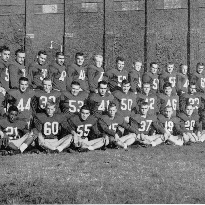 Football team, 1957