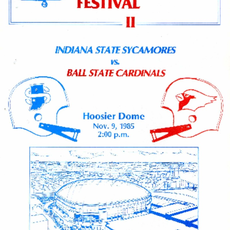 Victory Bell Festival II game program