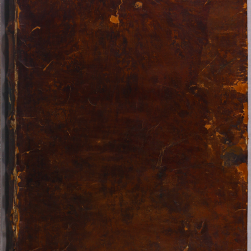 Cover, leather tree stain